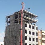 طراحی وساخت ساختمان هشت طبقه ( مدیریت پیمان )