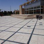 محوطه سازی ایستگاه راه آهن کرمان